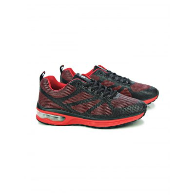 Outdoor Mesh Breathable Air-cushion Men SneakersHiking Shoes<br>Outdoor Mesh Breathable Air-cushion Men Sneakers<br><br>Closure Type: Lace-Up<br>Features: Breathable, Lightweight, Shock-absorbing<br>Highlights: Soft, Breathable<br>Package Contents: 1 x Pair of Shoes<br>Package size: 31.00 x 21.00 x 11.00 cm / 12.2 x 8.27 x 4.33 inches<br>Package weight: 0.6800 kg<br>Product weight: 0.5100 kg<br>Season: Summer, Spring, Autumn<br>Type: Running Shoes