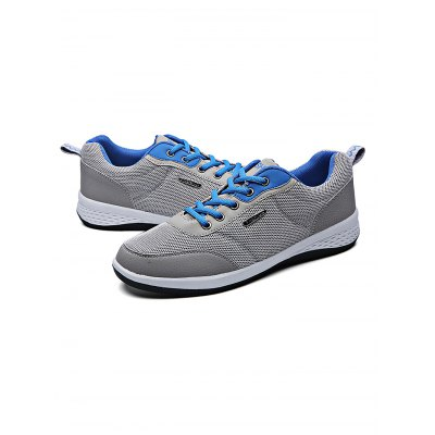 Mesh Running Lace Up Sports  Male Casual ShoesCasual Shoes<br>Mesh Running Lace Up Sports  Male Casual Shoes<br><br>Contents: 1 x Pair of Shoes<br>Materials: Mesh, Rubber<br>Occasion: Casual, Daily<br>Package Size ( L x W x H ): 31.00 x 18.50 x 11.00 cm / 12.2 x 7.28 x 4.33 inches<br>Package Weights: 0.58kg<br>Seasons: Autumn,Spring,Summer<br>Style: Leisure, Fashion, Comfortable<br>Type: Casual Shoes