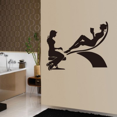 Beauty Printed Removable Wall Sticker WallpaperWall Stickers<br>Beauty Printed Removable Wall Sticker Wallpaper<br><br>Package Contents: 1 x Sticker<br>Package size (L x W x H): 61.50 x 6.00 x 6.00 cm / 24.21 x 2.36 x 2.36 inches<br>Package weight: 0.4050 kg