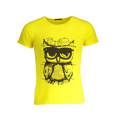 Cotton Printed T Shirts for MenMens Short Sleeve Tees<br>Cotton Printed T Shirts for Men<br><br>Material: Cotton<br>Neckline: Round Neck<br>Package Content: 1 x T-shirt<br>Package size: 30.00 x 25.00 x 1.50 cm / 11.81 x 9.84 x 0.59 inches<br>Package weight: 0.2700 kg<br>Pattern Type: Letter, Animal<br>Product weight: 0.2000 kg<br>Season: Winter, Summer, Spring, Autumn<br>Sleeve Length: Short Sleeves<br>Style: Casual
