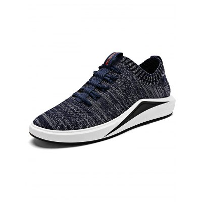 All-match Leisure Men Sports ShoesHiking Shoes<br>All-match Leisure Men Sports Shoes<br><br>Closure Type: Lace-Up<br>Features: Anti-slip, Shock-absorbing, Breathable<br>Gender: Men<br>Highlights: Soft, Breathable<br>Package Contents: 1 x Pair of Shoes<br>Package size: 33.00 x 22.00 x 11.00 cm / 12.99 x 8.66 x 4.33 inches<br>Package weight: 0.8800 kg<br>Product weight: 0.7000 kg<br>Season: Winter, Summer, Spring, Autumn<br>Sole Material: Rubber
