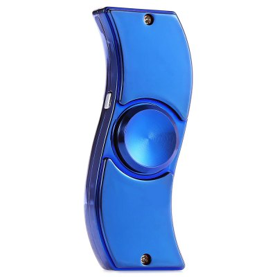 2 in 1 Two-blade Zinc Alloy Fidget Spinner LighterFidget Spinners<br>2 in 1 Two-blade Zinc Alloy Fidget Spinner Lighter<br><br>Color: Blue<br>Features: LED Light<br>Frame material: Zinc Alloy<br>Package Contents: 1 x Fidget Spinner, 1 x USB Cable<br>Package size (L x W x H): 12.00 x 7.50 x 3.00 cm / 4.72 x 2.95 x 1.18 inches<br>Package weight: 0.1650 kg<br>Product size (L x W x H): 7.90 x 3.30 x 1.90 cm / 3.11 x 1.3 x 0.75 inches<br>Product weight: 0.0750 kg<br>Swing Numbers: Dual Bar<br>Type: Multifunctional, Cool
