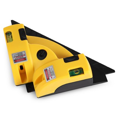 90 Degree Square Laser Infrared Level Measuring ToolOther Instruments<br>90 Degree Square Laser Infrared Level Measuring Tool<br><br>Material: Plastic<br>Package Contents: 1 x 90 Degree Square Laser Measuring Tool<br>Package size: 20.00 x 11.00 x 6.50 cm / 7.87 x 4.33 x 2.56 inches<br>Package weight: 0.2090 kg<br>Primary functions: Level Measuring<br>Product size: 19.00 x 10.00 x 5.50 cm / 7.48 x 3.94 x 2.17 inches<br>Product weight: 0.1500 kg<br>Scope of application: Laser Level<br>Type: Measuring tools