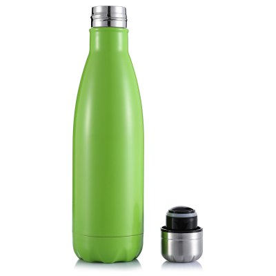 CTSmart 500mL Vacuum Stainless Steel Water BottleOther Camping Gadgets<br>CTSmart 500mL Vacuum Stainless Steel Water Bottle<br><br>Brand: CTSmart<br>Capacity: 500mL<br>Package Contents: 1 x CTSmart Water Bottle<br>Package size (L x W x H): 28.00 x 8.50 x 8.50 cm / 11.02 x 3.35 x 3.35 inches<br>Package weight: 0.4140 kg<br>Product size (L x W x H): 27.00 x 6.50 x 6.50 cm / 10.63 x 2.56 x 2.56 inches<br>Product weight: 0.3100 kg