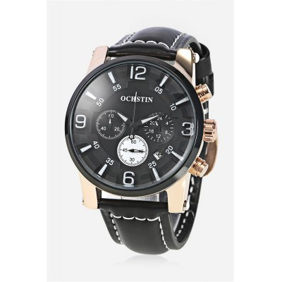 OCHSTIN 052D Men Working Sub-dial Quartz Watch