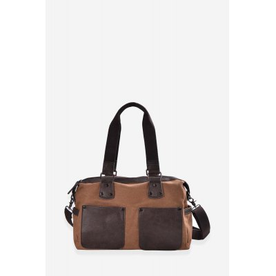 Douguyan Sling BagMens Bags<br>Douguyan Sling Bag<br><br>Brand: Douguyan<br>Color: Black,Brown<br>Material: Canvas, PU<br>Package Size(L x W x H): 40.80 x 13.40 x 29.90 cm / 16.06 x 5.28 x 11.77 inches<br>Package weight: 0.8600 kg<br>Packing List: 1 x Douguyan Sling Bag<br>Product Size(L x W x H): 39.80 x 12.40 x 28.90 cm / 15.67 x 4.88 x 11.38 inches<br>Product weight: 0.7200 kg<br>Style: Casual