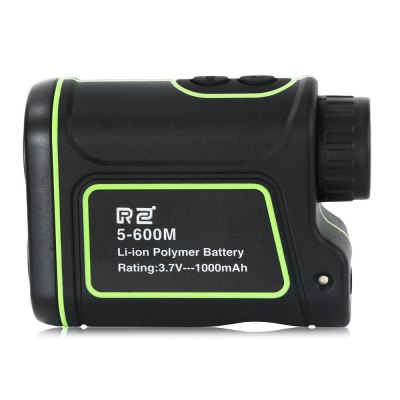 RZ RZ600S 5 - 600m Laser Monocular Range / Speed FinderLaser Rangefinder, Electronic Distance Meter<br>RZ RZ600S 5 - 600m Laser Monocular Range / Speed Finder<br><br>Battery Current: 1000mAh<br>Battery Type: Lithium<br>Battery Voltage: 3.7V<br>Brand: RZ<br>Certificate: CE,FCC,RoHs<br>Color: Black and Green<br>Magnification: 8x<br>Measuring Unit: Meter,Yard<br>Model: RZ600S<br>Objective Diameter: 25mm<br>Package Contents: 1 x Rangefinder, 1 x English User Manual, 1 x Pouch, 1 x Hand Strap, 1 x USB Cable ( length: 80cm ), 1 x Cloth<br>Package size (L x W x H): 17.50 x 13.50 x 6.50 cm / 6.89 x 5.31 x 2.56 inches<br>Package weight: 0.3730 kg<br>Product size (L x W x H): 10.40 x 7.65 x 4.10 cm / 4.09 x 3.01 x 1.61 inches<br>Product weight: 0.2000 kg
