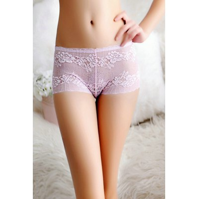 Sexy Lace Floral Pattern UnderwearBottoms<br>Sexy Lace Floral Pattern Underwear<br><br>Material: Polyamide, Spandex<br>Package Contents: 1 x Underwear<br>Package size: 15.00 x 15.00 x 2.00 cm / 5.91 x 5.91 x 0.79 inches<br>Package weight: 0.0410 kg<br>Product weight: 0.0200 kg
