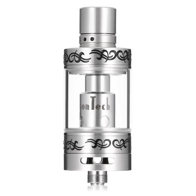 VAPJOY SPHINX Tank Atomizer with 0.4 ohm SS316L Coil HeadClearomizers<br>VAPJOY SPHINX Tank Atomizer with 0.4 ohm SS316L Coil Head<br><br>Brand: VAPJOY<br>Feature: Cleanable, Detachable<br>Material: Glass, Stainless Steel<br>Model: SPHINX<br>Overall Diameter: 22mm<br>Package Contents: 1 x Tank Atomizer, 1 x Coil, 1 x Box<br>Package size (L x W x H): 8.30 x 8.30 x 3.00 cm / 3.27 x 3.27 x 1.18 inches<br>Package weight: 0.0990 kg<br>Product size (L x W x H): 5.70 x 2.20 x 2.20 cm / 2.24 x 0.87 x 0.87 inches<br>Product weight: 0.0490 kg<br>Resistance : 0.4 ohm<br>Tank Capacity: 2.0ml<br>Thread: 510<br>Type: Tank Atomizer, Clearomizer