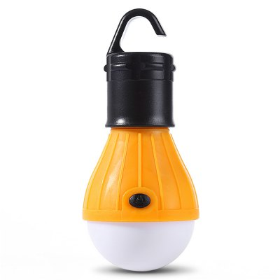 Outdoor Camping LED Lamp Tent Night Light BulbOutdoor Lights<br>Outdoor Camping LED Lamp Tent Night Light Bulb<br><br>Angle: 180 degree<br>Available Light Color: Cool White<br>Features: Low Power Consumption, Energy Saving, Long Life Expectancy<br>Function: Outdoor Lighting<br>Holder: Other<br>Lifespan: 5000 hours<br>Luminous Flux: 80LM<br>Package Contents: 1 x Camping Light<br>Package size (L x W x H): 18.50 x 9.00 x 5.00 cm / 7.28 x 3.54 x 1.97 inches<br>Package weight: 0.0600 kg<br>Product size (L x W x H): 5.00 x 5.00 x 12.00 cm / 1.97 x 1.97 x 4.72 inches<br>Product weight: 0.0360 kg<br>Sheathing Material: ABS<br>Type: Camping Light<br>Voltage (V): 5V