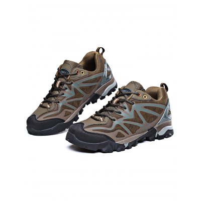 Men  Climbing Explore Lace Up  Hiking  ShoesHiking Shoes<br>Men  Climbing Explore Lace Up  Hiking  Shoes<br><br>Closure Type: Lace-Up<br>Features: Anti-slip, Shock-absorbing<br>Package Contents: 1 x Pair of Shoes<br>Package size: 33.00 x 20.00 x 12.00 cm / 12.99 x 7.87 x 4.72 inches<br>Package weight: 1.1500 kg<br>Product weight: 0.9800 kg<br>Season: Autumn, Winter, Summer, Spring<br>Sole Material: Rubber