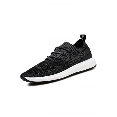 Fashion Comfortable  Fly Woven Men  SneakersHiking Shoes<br>Fashion Comfortable  Fly Woven Men  Sneakers<br><br>Closure Type: Lace-Up<br>Features: Anti-slip, Breathable, Lightweight, Shock-absorbing<br>Package Contents: 1 x Pair of Shoes<br>Package size: 33.00 x 22.00 x 11.00 cm / 12.99 x 8.66 x 4.33 inches<br>Package weight: 0.8800 kg<br>Product weight: 0.7000 kg<br>Season: Winter, Summer, Spring, Autumn<br>Sole Material: Rubber<br>Type: Running Shoes