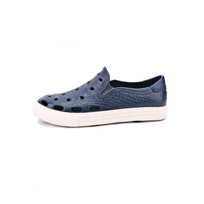 Snakeskin Pattern Holes Men Beach SandalsMens Slippers<br>Snakeskin Pattern Holes Men Beach Sandals<br><br>Contents: 1 x Pair of Sandals<br>Materials: EVA<br>Occasion: Casual<br>Package Size ( L x W x H ): 33.00 x 18.00 x 5.00 cm / 12.99 x 7.09 x 1.97 inches<br>Package Weights: 0.370kg<br>Product Size  ( L x W x H ): 33.00 x 18.00 x 5.00 cm / 12.99 x 7.09 x 1.97 inches<br>Seasons: Autumn,Spring,Summer<br>Style: Leisure, Fashion, Comfortable<br>Type: Sandals