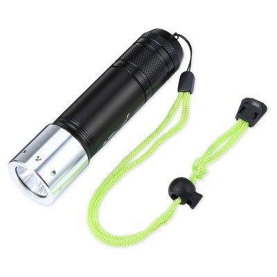 T02 CREE XML - L2 1000Lm Outdoor Diving LED FlashlightLED Flashlights<br>T02 CREE XML - L2 1000Lm Outdoor Diving LED Flashlight<br><br>Battery Included or Not: No<br>Battery Quantity: 1 x 26650 or 3 x AAA ( not included )<br>Battery Type: 26650, AAA<br>Body Material: Aluminium Alloy<br>Color Temperature: 5000K<br>Emitters: Cree XML-L2<br>Emitters Quantity: 1<br>Feature: Adjustable brightness, Diving<br>Flashlight size: EDC<br>Flashlight Type: Handheld<br>Function: Exploring, Emergency, EDC, Diving<br>Light color: Neutral White<br>Light Modes: High,Low,Strobe<br>Lumens Range: 500-1000Lumens<br>Luminous Flux: 1000Lm<br>Mode: 3 (Cool White; Warm White; Purple)<br>Model: T02<br>Package Contents: 1 x T02 LED Flashlight, 3 x O-ring<br>Package size (L x W x H): 15.00 x 3.50 x 3.50 cm / 5.91 x 1.38 x 1.38 inches<br>Package weight: 0.2500 kg<br>Product size (L x W x H): 14.00 x 3.50 x 2.50 cm / 5.51 x 1.38 x 0.98 inches<br>Product weight: 0.1700 kg<br>Reflector: Aluminum Smooth Reflector<br>Working Voltage: 3.7V
