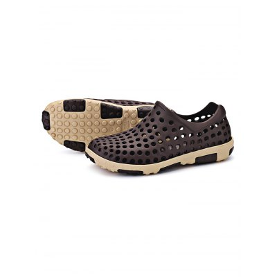 Unisex Summer  Hollowed-out Casual Beach SandalsMens Sandals<br>Unisex Summer  Hollowed-out Casual Beach Sandals<br><br>Contents: 1 x Pair of Shoes<br>Materials: PVC<br>Occasion: Casual, Daily<br>Package Size ( L x W x H ): 31.00 x 21.00 x 11.00 cm / 12.2 x 8.27 x 4.33 inches<br>Package Weights: 0.550kg<br>Seasons: Summer<br>Style: Leisure, Comfortable<br>Type: Casual Shoes