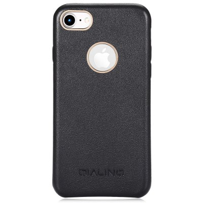 QIALINO Phone Case for iPhone 7iPhone Cases/Covers<br>QIALINO Phone Case for iPhone 7<br><br>Brand: QIALINO<br>Compatible for Apple: iPhone 7<br>Features: Anti-knock, Back Cover<br>Material: Cowhide<br>Package Contents: 1 x Phone Case<br>Package size (L x W x H): 19.00 x 14.00 x 3.30 cm / 7.48 x 5.51 x 1.3 inches<br>Package weight: 0.1600 kg<br>Product size (L x W x H): 14.00 x 7.00 x 1.00 cm / 5.51 x 2.76 x 0.39 inches<br>Product weight: 0.0160 kg<br>Style: Leather, Modern