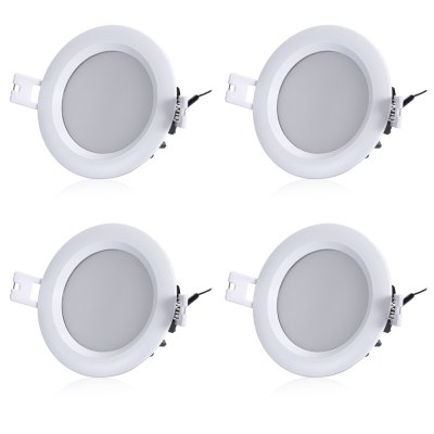 4PCS ZDM LED Cool White Downlight