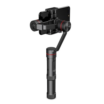 Zhiyun Smooth 3 3-axis Stabilization Handheld GimbalGimbal<br>Zhiyun Smooth 3 3-axis Stabilization Handheld Gimbal<br><br>Brand: zhiyun<br>Camera Gimbals: Brushless Gimbals, Hand Gimbal<br>FPV Equipments: Gimbal<br>Functions: Video<br>Max Payload: 260g<br>Package Contents: 1 x Gimbal ( Battery Included ), 1 x USB Cable, 1 x Storage Bag, 1 x English Manual<br>Package size (L x W x H): 36.10 x 15.10 x 10.00 cm / 14.21 x 5.94 x 3.94 inches<br>Package weight: 1.0450 kg<br>Product size (L x W x H): 13.40 x 9.70 x 30.30 cm / 5.28 x 3.82 x 11.93 inches<br>Product weight: 0.4400 kg<br>Type: 3 Axis<br>Waterproof / Water-Resistant: No