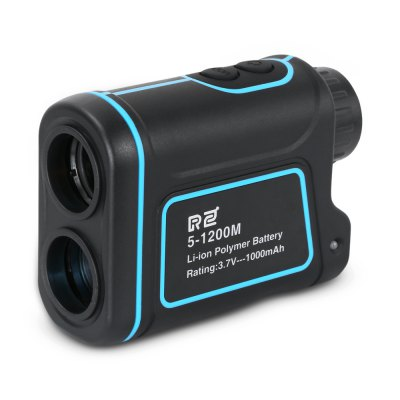 RZ RZ1200S 5 - 1200m Laser Monocular Range / Angle FinderLaser Rangefinder, Electronic Distance Meter<br>RZ RZ1200S 5 - 1200m Laser Monocular Range / Angle Finder<br><br>Battery Current: 1000mAh<br>Battery Type: Lithium<br>Battery Voltage: 3.7V<br>Brand: RZ<br>Certificate: CE,FCC,RoHs<br>Color: Blue and Black<br>Diopter Adjustable Range: + / -3 degree<br>Eyepiece Diameter: 16mm<br>Laser Wavelength: 905nm<br>Magnification: 8X<br>Measuring Unit: Meter,Yard<br>Model: RZ1200S<br>Objective Diameter: 25mm<br>Package Contents: 1 x Rangefinder, 1 x English User Manual, 1 x Pouch, 1 x Hand Strap, 1 x USB Cable ( length: 80cm ), 1 x Cloth<br>Package size (L x W x H): 17.50 x 13.50 x 6.50 cm / 6.89 x 5.31 x 2.56 inches<br>Package weight: 0.3730 kg<br>Product size (L x W x H): 10.40 x 7.65 x 4.10 cm / 4.09 x 3.01 x 1.61 inches<br>Product weight: 0.2000 kg