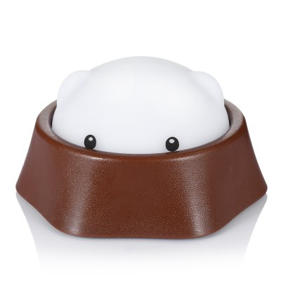 Cute Mole Warm Pat Night LightDecorative Lights<br>Cute Mole Warm Pat Night Light<br><br>LED Quantity: 12<br>Material: ABS<br>Package Contents: 1 x Mole Night Light, 1 x Chinese User Manual, 1 x USB Cable<br>Package size (L x W x H): 17.00 x 14.70 x 9.40 cm / 6.69 x 5.79 x 3.7 inches<br>Package weight: 0.2650 kg<br>Product size (L x W x H): 9.00 x 14.00 x 14.00 cm / 3.54 x 5.51 x 5.51 inches<br>Product weight: 0.1360 kg