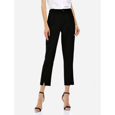 Ankle Length Cropped Pants