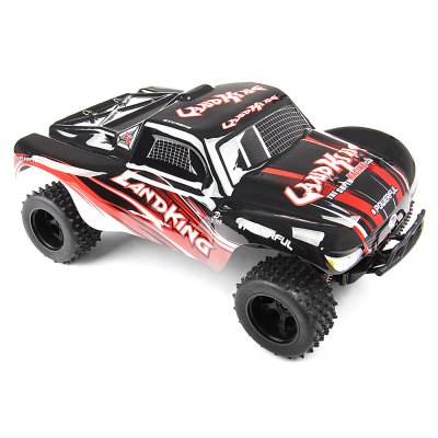 FEILUN LK815 1:10 2WD Brushed Off-road RC Car - RTRRC Cars<br>FEILUN LK815 1:10 2WD Brushed Off-road RC Car - RTR<br><br>Battery Information: 7.4V 380mAh lithium-ion<br>Brand: FEILUN<br>Car Power: Built-in rechargeable battery<br>Charging Time: 120 Minutes<br>Detailed Control Distance: 100m<br>Drive Type: 2 WD<br>Features: Radio Control<br>Material: Electronic Components, Plastic<br>Motor Type: Brushed Motor<br>Package Contents: 1 x RC Car ( Battery Included ), 1 x Transmitter, 1 x USB Cable, 1 x English Manual<br>Package size (L x W x H): 41.00 x 28.50 x 21.00 cm / 16.14 x 11.22 x 8.27 inches<br>Package weight: 1.6500 kg<br>Product size (L x W x H): 39.00 x 24.00 x 16.50 cm / 15.35 x 9.45 x 6.5 inches<br>Product weight: 1.3500 kg<br>Proportion: 1:10<br>Racing Time: About 15mins<br>Remote Control: 2.4GHz Wireless Remote Control<br>Speed: 15 - 20km/h<br>Transmitter Power: 4 x 1.5V AA (not included)<br>Type: Off-Road Car