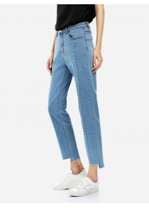 ZANSTYLE Women Ankle Blue Jeans