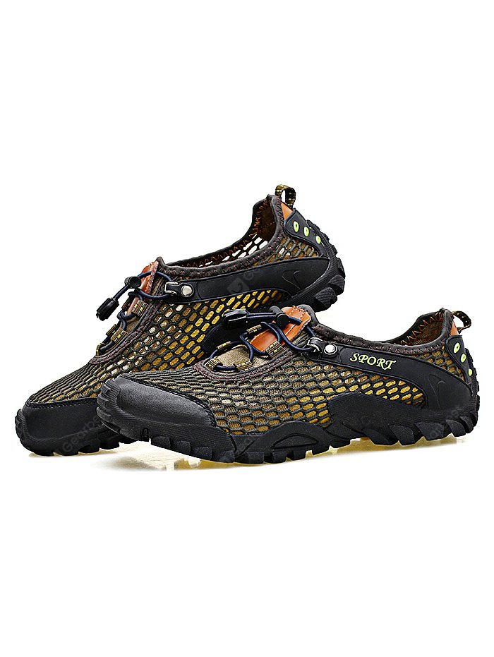 buy outdoor climbing breathable mesh sports shoes 40