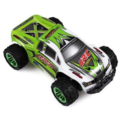 JJRC Q35 1:26 Mini Brushed Off-road RC Monster Truck - RTRRC Cars<br>JJRC Q35 1:26 Mini Brushed Off-road RC Monster Truck - RTR<br><br>Age: Above 14 years old<br>Battery Information: 7.4V 400mAh LiPo, 24g, 4.8 x 1.7 x 1.4cm, with JST and XH-3P connector<br>Brand: JJRC<br>Car Power: Built-in rechargeable battery<br>Charging Time: 120 Minutes<br>Drive Type: 4 WD<br>Features: Radio Control<br>Material: Alloy, Electronic Components, Plastic<br>Motor Type: Brushed Motor<br>Package Contents: 1 x RC Truck ( Battery Included ), 1 x Transmitter, 1 x USB Cable, 1 x Screwdriver, 1 x Set of Accessories, 1 x English Manual<br>Package size (L x W x H): 26.70 x 13.00 x 23.00 cm / 10.51 x 5.12 x 9.06 inches<br>Package weight: 0.7940 kg<br>Product size (L x W x H): 17.00 x 10.50 x 6.50 cm / 6.69 x 4.13 x 2.56 inches<br>Product weight: 0.1980 kg<br>Proportion: 1:26<br>Remote Control: 2.4GHz Wireless Remote Control<br>Speed: more than 30km/h<br>Transmitter Power: 4 x 1.5V AA (not included)<br>Type: Off-Road Car