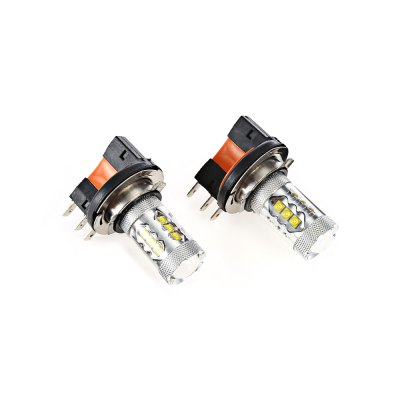 CREE 3535 16SMD H15 LED Car Fog LightCar Lights<br>CREE 3535 16SMD H15 LED Car Fog Light<br><br>Apply lamp position : External Lights<br>Apply To Car Brand: Universal<br>Color temperatures: 6000K<br>Connector: H15<br>Emitting color: White<br>Feature: Easy to use<br>LED Type: CREE<br>LED/Bulb quantity: 16 LED<br>Lumens: 800LM<br>Material: Aluminium<br>Package Contents: 2 x Car Light<br>Package size (L x W x H): 14.50 x 10.30 x 5.00 cm / 5.71 x 4.06 x 1.97 inches<br>Package weight: 0.0720 kg<br>Power: 80W<br>Product size (L x W x H): 6.00 x 4.30 x 3.50 cm / 2.36 x 1.69 x 1.38 inches<br>Product weight: 0.0500 kg<br>Type: Turn Signal Light, Tail Light, Fog Light, Daytime Running Light, Brake Light<br>Type of lamp-house : LED<br>Voltage: 12V-24V