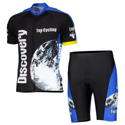 TOP CYCLING Unisex Quick-drying Short Pants Cycling Suit