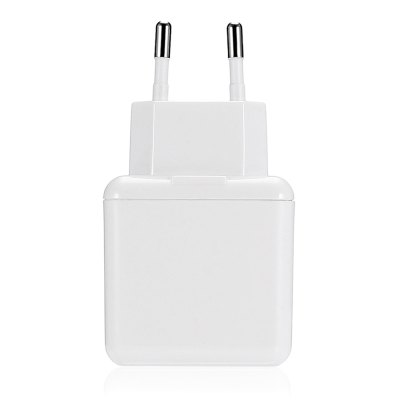 2.4A Quick Charge Dual USB Travel Power Charger Adapter
