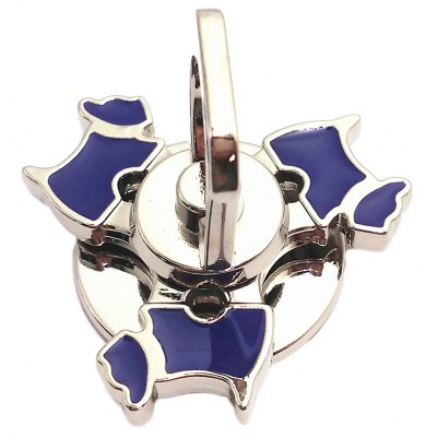 Tri-dog Finger Ring Fidget Spinner Zinc Alloy Stress Reliever Toy