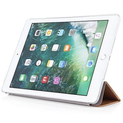 ASLING PU Cover Tablet ProtectoriPad Cases/Covers<br>ASLING PU Cover Tablet Protector<br><br>Brand: ASLING<br>Features: Anti-knock, Auto Sleep / Wake up, Cases with Stand, Full Body Cases<br>Material: PC, PU Leather<br>Package Contents: 1 x Cover Case<br>Package size (L x W x H): 25.50 x 19.00 x 1.90 cm / 10.04 x 7.48 x 0.75 inches<br>Package weight: 0.1710 kg<br>Product size (L x W x H): 24.10 x 17.30 x 0.90 cm / 9.49 x 6.81 x 0.35 inches<br>Product weight: 0.1490 kg<br>Style: Solid Color, Modern
