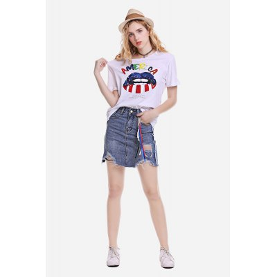Cool Mouth Printed Tee