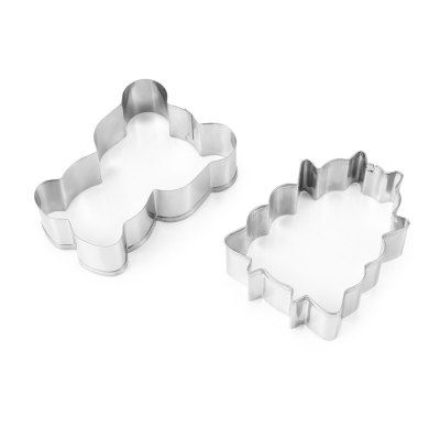 5PCS Stainless Steel Cookie CutterBaking &amp; Pastry Tools<br>5PCS Stainless Steel Cookie Cutter<br><br> Product weight: 0.0100 kg<br>Available Color: Silver<br>Material: Stainless Steel<br>Package Contents: 5 x Cookie Cutter<br>Package size (L x W x H): 11.40 x 21.90 x 3.00 cm / 4.49 x 8.62 x 1.18 inches<br>Package weight: 0.0680 kg<br>Type: Bakeware