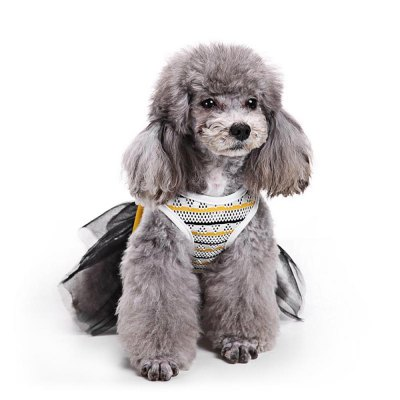 Bowknot Princess Skirt Pet Dog Clothes Tee CostumeDog Clothing &amp; Shoes<br>Bowknot Princess Skirt Pet Dog Clothes Tee Costume<br><br>Package Contents: 1 x Dog Clothes<br>Package size (L x W x H): 24.50 x 24.60 x 1.10 cm / 9.65 x 9.69 x 0.43 inches<br>Package weight: 0.0440 kg<br>Season: Autumn, Spring, Summer<br>Size: XS