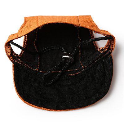 Pet Dog Sport Baseball CapDog Clothing &amp; Shoes<br>Pet Dog Sport Baseball Cap<br><br>Color: Orange<br>For: Dogs<br>Material: Canvas<br>Package Contents: 1 x Dog Hat<br>Package size (L x W x H): 17.90 x 15.20 x 2.50 cm / 7.05 x 5.98 x 0.98 inches<br>Package weight: 0.0370 kg<br>Product size (L x W x H): 16.00 x 13.30 x 1.50 cm / 6.3 x 5.24 x 0.59 inches<br>Product weight: 0.0150 kg<br>Season: Summer, Spring, Autumn<br>Size: S