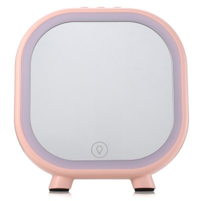 Makeup Cosmetic Mirror Portable Speaker with LightMakeup Brushes &amp; Tools<br>Makeup Cosmetic Mirror Portable Speaker with Light<br><br>Package Contents: 1 x Mirror, 1 x USB Cable, 1 x AUX Cable<br>Package size (L x W x H): 21.00 x 19.30 x 8.20 cm / 8.27 x 7.6 x 3.23 inches<br>Package weight: 0.5710 kg<br>Product size (L x W x H): 17.50 x 16.30 x 5.00 cm / 6.89 x 6.42 x 1.97 inches<br>Product weight: 0.3870 kg