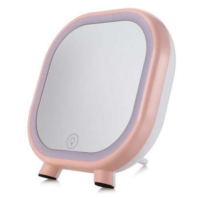 Makeup Cosmetic Mirror Portable Speaker with Light