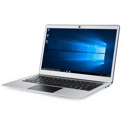 Jumper EZBOOK 3 PRO NotebookLaptops<br>Jumper EZBOOK 3 PRO Notebook<br><br>3.5mm Headphone Jack: Yes<br>AC adapter: 100-240V 12V 3A<br>Battery Type: 9600mAh Polymer Battery<br>Bluetooth: 4.0<br>Brand: Jumper<br>Caching: 2MB L2<br>Camera type: Single camera<br>Charger: 1<br>Core: 1.1GHz, Quad Core<br>CPU: Intel APOLLO LAKE N3450<br>CPU Brand: Intel<br>DC Jack: Yes<br>Display Ratio: 16:9<br>English Manual : 1<br>External Memory: TF card up to 128GB (not included)<br>Front camera: 2.0MP<br>Graphics Capacity: 2G<br>Graphics Chipset: Intel Graphics 500<br>Hard Disk Interface Type: M.2<br>Hard Disk Memory: 64GB EMMC<br>Languages: Windows OS is built-in Chinese and English, and other languages need to be downloaded by WiFi<br>Material of back cover: Aluminum Alloy<br>MIC: Supported<br>Mini HDMI slot: Yes<br>Model: EZBOOK 3 PRO<br>MS Office format: PPT, Word, Excel<br>Music format: MP3<br>Notebook: 1<br>OS: Windows 10<br>Package size: 38.50 x 31.50 x 8.50 cm / 15.16 x 12.4 x 3.35 inches<br>Package weight: 2.3670 kg<br>Picture format: JPEG, GIF, BMP, PNG, JPG<br>Power Consumption: 4W<br>Process Technology: 14nm<br>Product size: 31.50 x 20.85 x 1.50 cm / 12.4 x 8.21 x 0.59 inches<br>Product weight: 1.3930 kg<br>RAM: 6GB<br>RAM Type: DDR3<br>Screen resolution: 1920 x 1080 (FHD)<br>Screen size: 13.3 inch<br>Screen type: IPS<br>Skype: Supported<br>Speaker: Supported<br>TF card slot: Yes<br>Threading: 4<br>Type: Notebook<br>USB Host: Yes (2x USB 3.0 Host)<br>WIFI: 802.11b/g/n/ac wireless internet<br>WLAN Card: Yes<br>Youtube: Supported