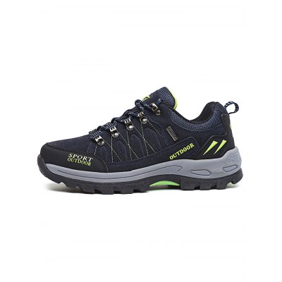 Outdoor Sports Lace Up Climing Hiking Men ShoesAthletic Shoes<br>Outdoor Sports Lace Up Climing Hiking Men Shoes<br><br>Contents: 1 x Pair of Shoes<br>Materials: Rubber<br>Occasion: Casual<br>Package Size ( L x W x H ): 37.00 x 23.00 x 16.00 cm / 14.57 x 9.06 x 6.3 inches<br>Package Weights: 1.270kg<br>Seasons: Autumn,Spring,Summer<br>Style: Comfortable<br>Type: Hiking Shoes