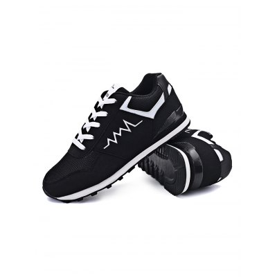 Outdoor Breathable Sports Lace Up Men Hiking ShoesHiking Shoes<br>Outdoor Breathable Sports Lace Up Men Hiking Shoes<br><br>Contents: 1 x Pair of Shoes<br>Materials: Mesh, Rubber<br>Occasion: Casual<br>Package Size ( L x W x H ): 31.00 x 21.00 x 11.00 cm / 12.2 x 8.27 x 4.33 inches<br>Package Weights: 0.680kg<br>Seasons: Autumn,Spring,Summer<br>Style: Leisure, Fashion, Comfortable<br>Type: Hiking Shoes
