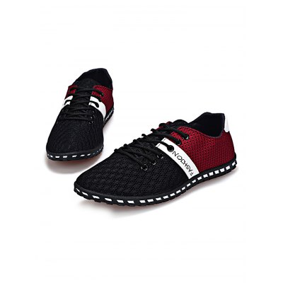 Summer Sports Cycling Men Board ShoesCasual Shoes<br>Summer Sports Cycling Men Board Shoes<br><br>Closure Type: Lace-Up<br>Features: Anti-slip, Breathable<br>Package Contents: 1 x Pair of Shoes<br>Package size: 31.00 x 21.00 x 11.00 cm / 12.2 x 8.27 x 4.33 inches<br>Package weight: 0.6400 kg<br>Product weight: 0.4700 kg<br>Season: Autumn, Spring, Summer<br>Sole Material: Rubber