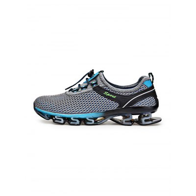 Sports Mesh Breathable Men Running Hiking ShoesHiking Shoes<br>Sports Mesh Breathable Men Running Hiking Shoes<br><br>Contents: 1 x Pair of Shoes<br>Materials: Mesh, Rubber, TPU<br>Occasion: Casual<br>Package Size ( L x W x H ): 35.00 x 22.00 x 15.00 cm / 13.78 x 8.66 x 5.91 inches<br>Package Weights: 1.040kg<br>Seasons: Autumn,Spring,Summer<br>Style: Leisure, Fashion, Comfortable<br>Type: Hiking Shoes