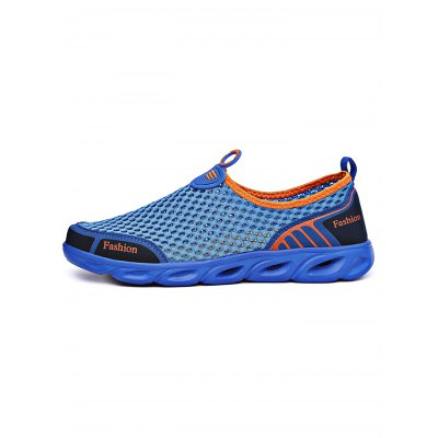 Outdoor Summer Mesh Slip On Trekking ShoesCasual Shoes<br>Outdoor Summer Mesh Slip On Trekking Shoes<br><br>Contents: 1 x Pair of Shoes<br>Materials: EVA, Rubber<br>Occasion: Casual<br>Package Size ( L x W x H ): 34.00 x 22.00 x 15.00 cm / 13.39 x 8.66 x 5.91 inches<br>Package Weights: 0.620kg<br>Seasons: Autumn,Spring,Summer<br>Style: Leisure, Fashion, Comfortable<br>Type: Casual Shoes