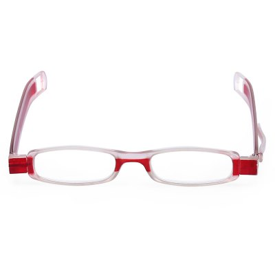 Presbyopic Reading Eyeglasses with 360 Degree Folding DesignOther Eyewear<br>Presbyopic Reading Eyeglasses with 360 Degree Folding Design<br><br>Material: PC, Resin<br>Package Content: 1 x Reading Eyeglasses, 1 x Storage Box<br>Package size: 18.00 x 9.00 x 6.00 cm / 7.09 x 3.54 x 2.36 inches<br>Package weight: 0.1020 kg<br>Product size: 13.50 x 14.00 x 2.20 cm / 5.31 x 5.51 x 0.87 inches<br>Product weight: 0.0170 kg<br>Suitable for: Old People<br>Type: Presbyopic Glasses