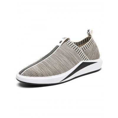 Men Fashion  Fly Woven SneakersHiking Shoes<br>Men Fashion  Fly Woven Sneakers<br><br>Features: Anti-slip, Breathable, Shock-absorbing<br>Highlights: Soft, Breathable<br>Package Contents: 1 x Pair of Shoes<br>Package size: 33.00 x 22.00 x 11.00 cm / 12.99 x 8.66 x 4.33 inches<br>Package weight: 0.8800 kg<br>Product weight: 0.7000 kg<br>Season: Winter, Summer, Spring, Autumn<br>Sole Material: Rubber