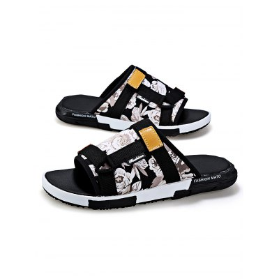 Summer Cool Canvas Slippers for MenMens Slippers<br>Summer Cool Canvas Slippers for Men<br><br>Contents: 1 x Pair of Shoes<br>Materials: Artificial leather, Canvas<br>Occasion: Casual, Daily<br>Package Size ( L x W x H ): 31.00 x 18.50 x 11.00 cm / 12.2 x 7.28 x 4.33 inches<br>Package Weights: 0.51kg<br>Seasons: Summer<br>Style: Leisure, Fashion, Comfortable<br>Type: Slippers