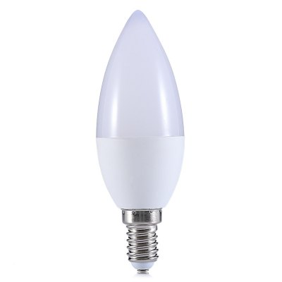 YouOKLight E14 4.5W 10 LEDs Candle LampCandle Bulbs<br>YouOKLight E14 4.5W 10 LEDs Candle Lamp<br><br>Available Light Color: Warm White<br>Brand: YouOKLight<br>Features: Low Power Consumption<br>Function: Home Lighting<br>Holder: E14<br>Package Contents: 1 x YouOKLight Candle Lamp<br>Package size (L x W x H): 4.00 x 4.00 x 15.00 cm / 1.57 x 1.57 x 5.91 inches<br>Package weight: 0.0730 kg<br>Product weight: 0.0400 kg<br>Sheathing Material: Plastic, Aluminum<br>Type: Candle Bulbs<br>Voltage (V): AC 85-265